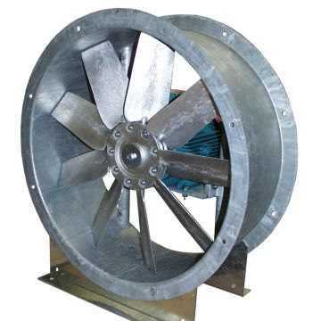 axial fan / drying / ventilation / explosion-proof