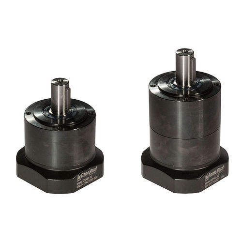 planetary gear reducer / helical / coaxial / 100 - 200 Nm