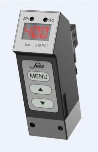 electronic pressure switch / with digital display / programmable / IP65