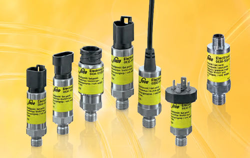 liquid pressure switch / electronic / diaphragm / for hydraulic applications