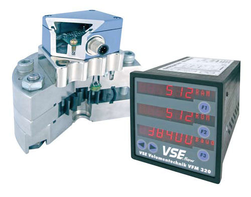 gear flow meter / for hydrocarbons / insertion / explosion-proof