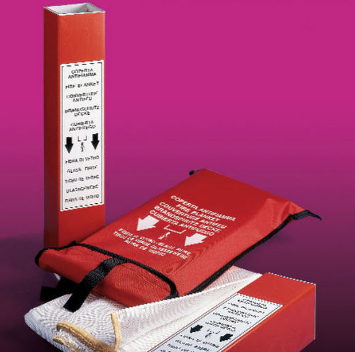 fire-retardant insulating blanket / fiberglass