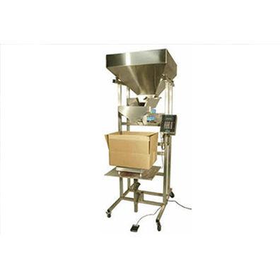 dry bulk material filling machine / bag-in-box / semi-automatic / weight