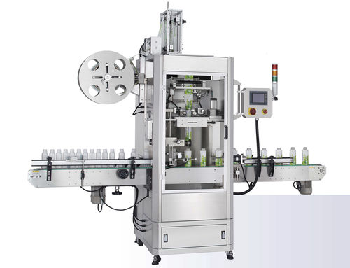 automatic labelling machine / shrink sleeve / high-speed / linear array