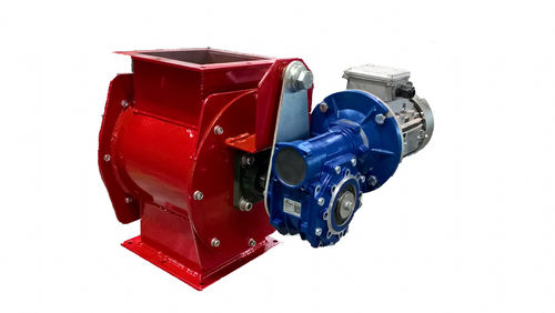 powder rotary valve