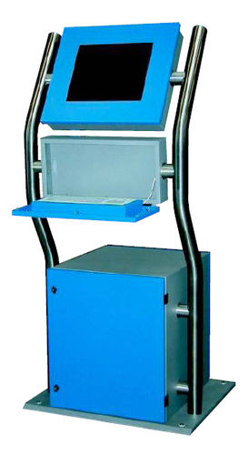 terminal with touch screen / kiosk / TFT LCD / industrial