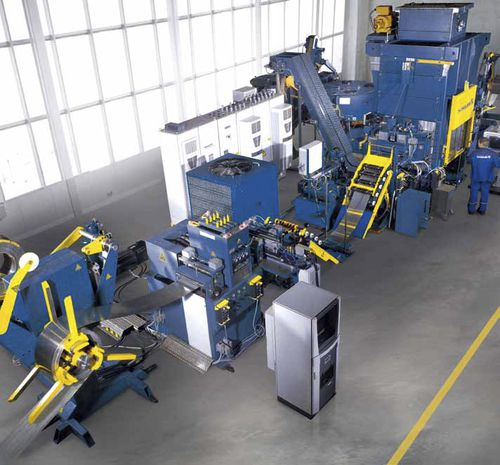 high-speed blanking press