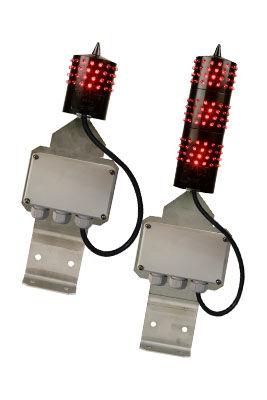 LED obstruction light