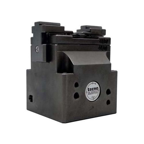 self-centering vise / for machine tools / pneumatic / low-profile