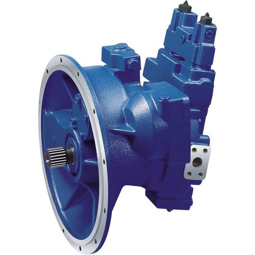 hydraulic axial piston pump / high-power / open / bent-axis