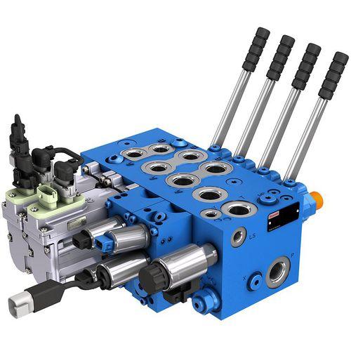 control hydraulic block