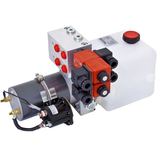 hydraulic power unit with DC motor / with AC motor / compact / small
