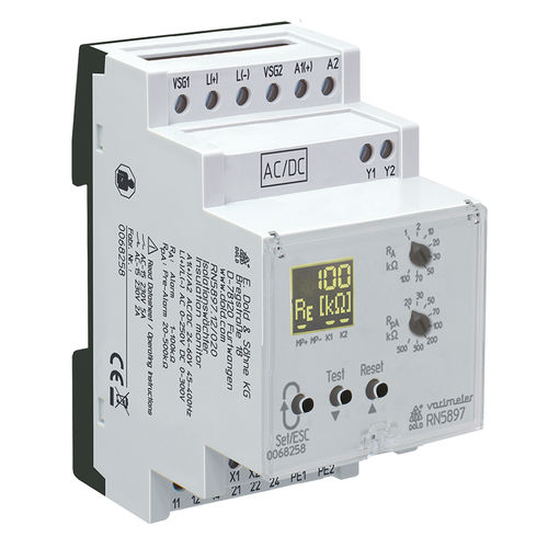 AC network insulation monitor