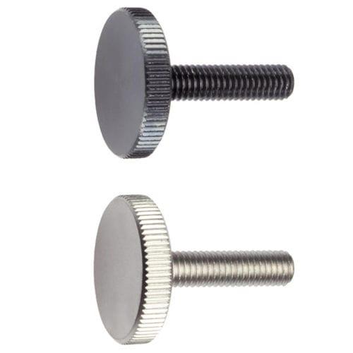 stainless steel knurled screw