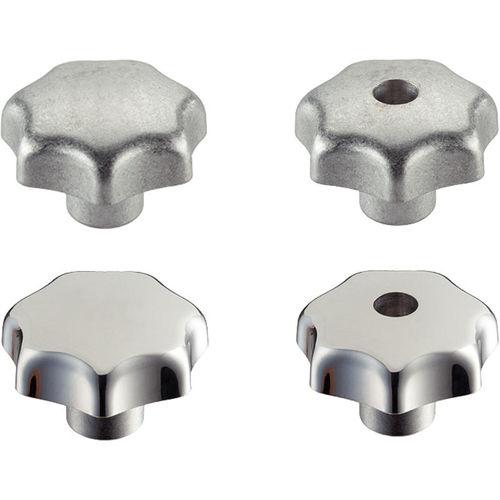 torx knob / threaded / aluminum