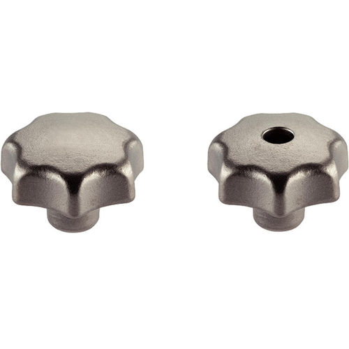 torx knob / threaded / stainless steel
