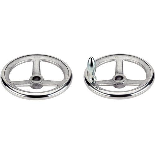 operating handwheel / spoked / steel