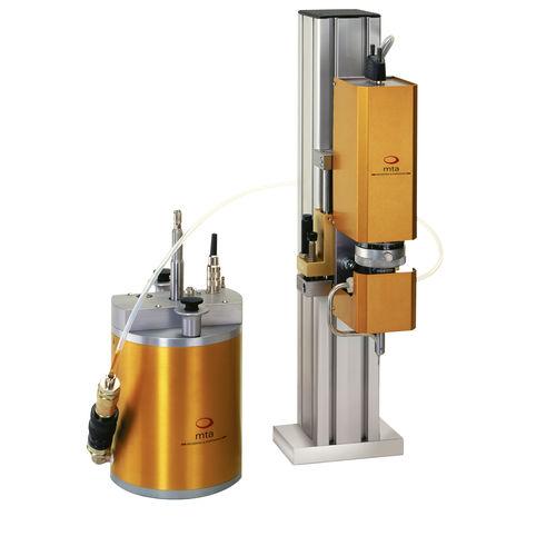 volumetric micro dispensing station / liquid / automatic / in-line