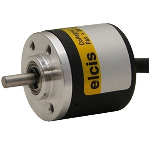 miniature rotary encoder / incremental / solid-shaft / aluminum