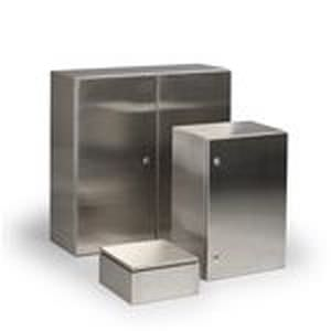 Storage Cabinet Wall Mounted Hinged Door Stainless