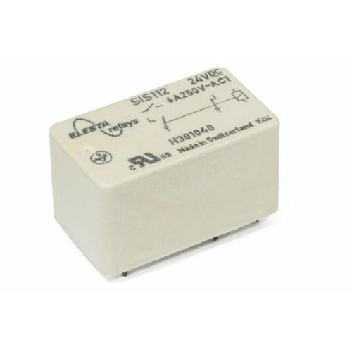 electromechanical relay with guided contacts