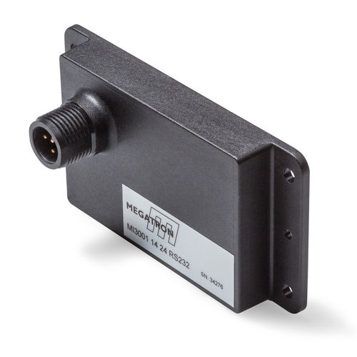 1-axis inclinometer / RS-232 / CAN / Modbus