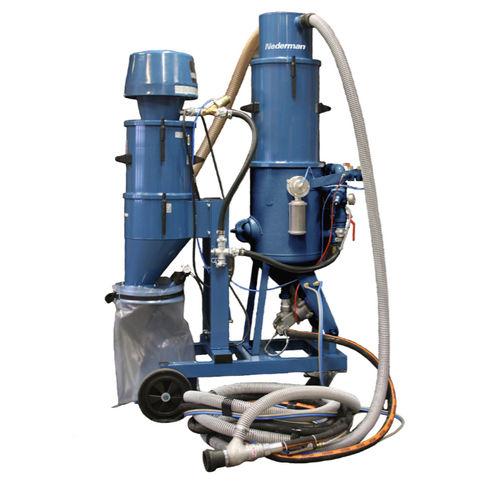 manual sandblasting machine / pressure / suction / mobile