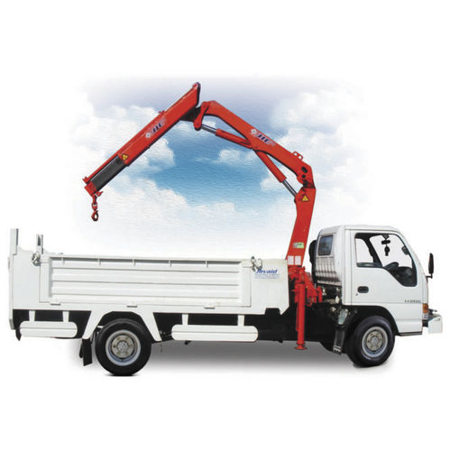 truck-mounted crane / boom / articulated / compact