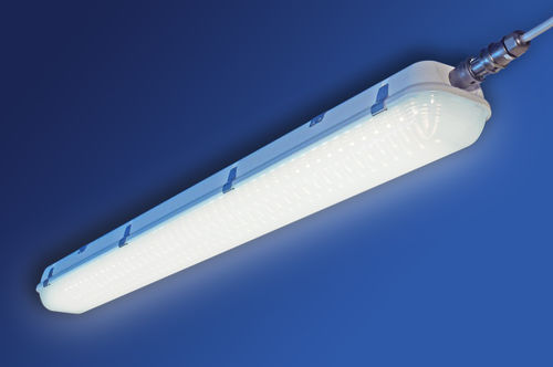 ceiling-mounted lighting / LED / for storage hall / for shops