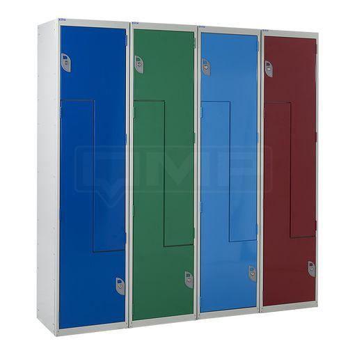 robust locker / with Z-shaped door