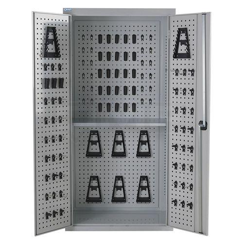 tool cupboard / workshop / floor-mounted / shelf