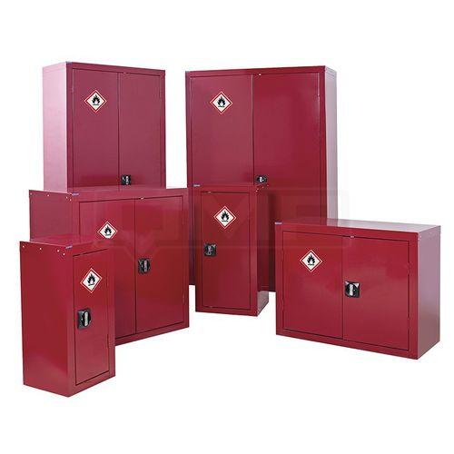 storage cupboard / floor-mounted / door / shelf