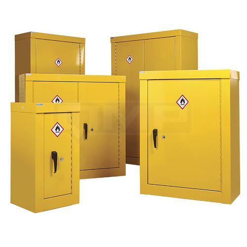 security cupboard / floor-mounted / door / shelf