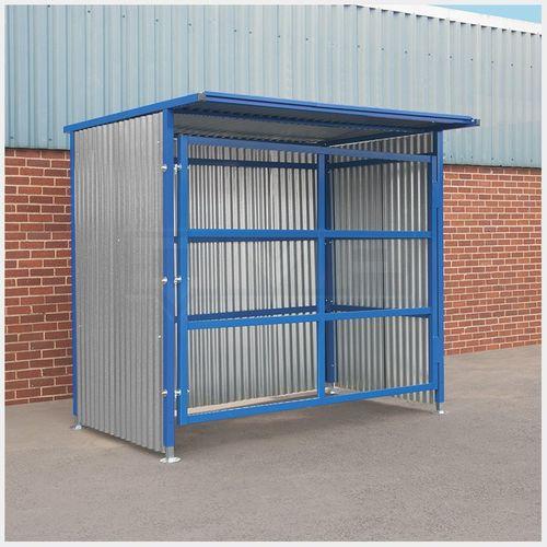 storage shelter / industrial / steel