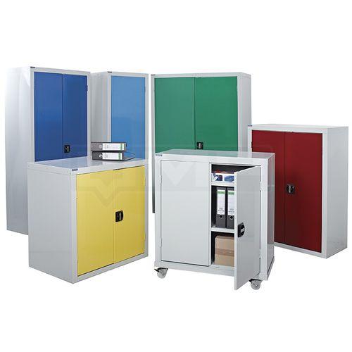 storage cupboard / floor-mounted / wall-mounted / door