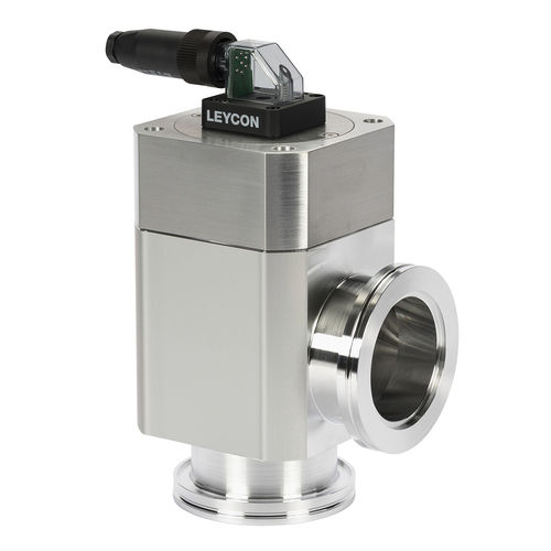 manual valve / electropneumatic / aluminum / stainless steel