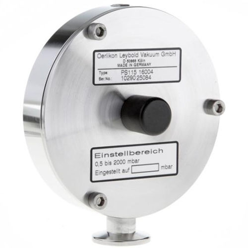 gas pressure switch / diaphragm / increased safety