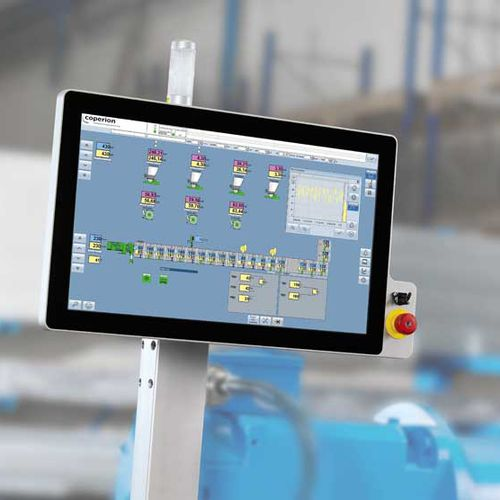 monitoring control system / digital / for machines / automatic
