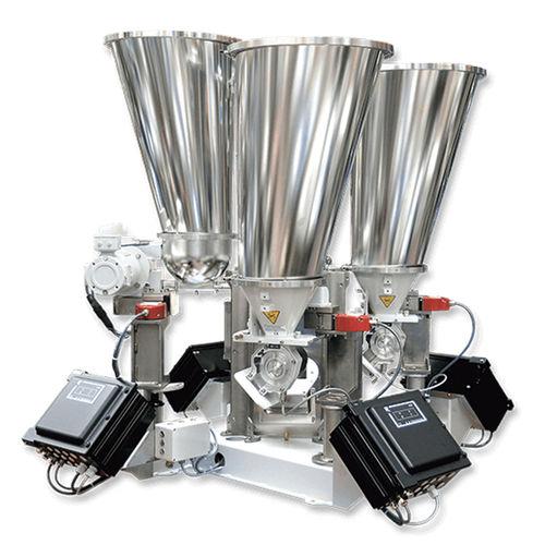 conical screw blender / continuous / powder / granulates