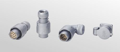 circular connector / aluminium / modular / rugged