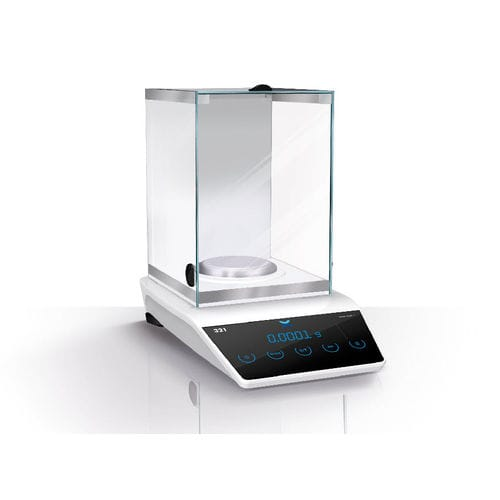 precision scale / laboratory / analysis / with LED display