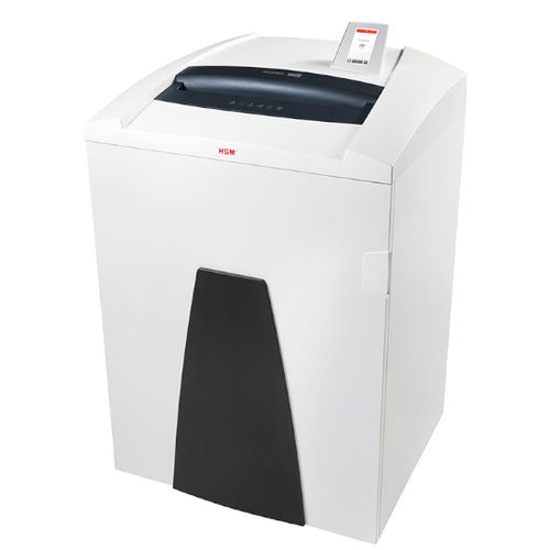 office document shredder / high-power / with display