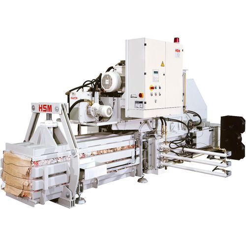 horizontal baling press / channel / for cardboard boxes / for paper