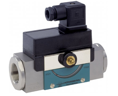 piston flow switch / mechanical / for gas / for oil