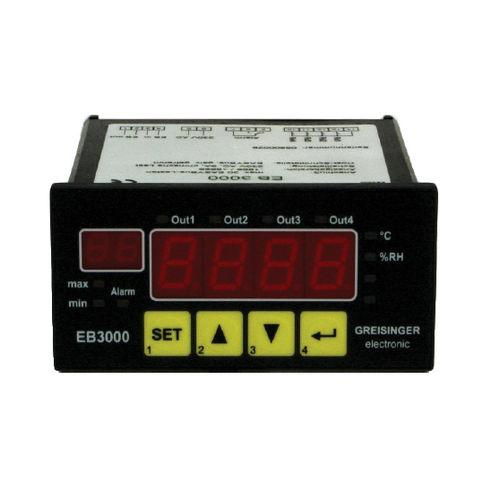 universal indicator controller / digital / panel-mount / 20-channel