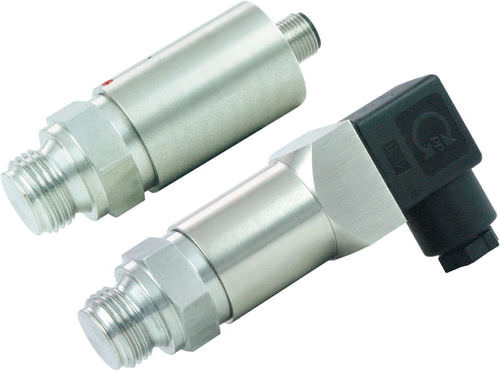 relative pressure transmitter / piezoresistive / membrane / thin-film