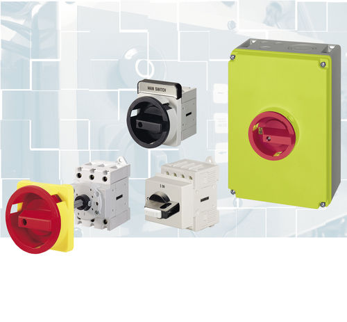 main switch / rotary / multipole / on/off