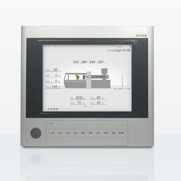 HMI terminal with touch screen / panel-mount / TFT LCD / industrial