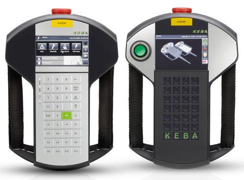 operator terminal with keyboard / handheld / 480 x 272 / ARM Cortex-A8