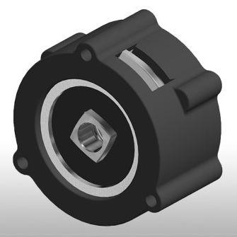 disc brake / electromagnetic / spring activated / for motors